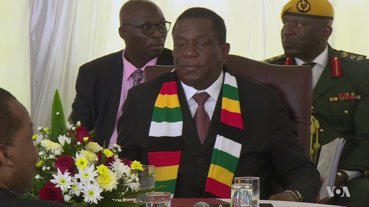 Zimbabwe's President Assures Nation Economy Will Recover