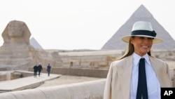 Melania Trump a Masar