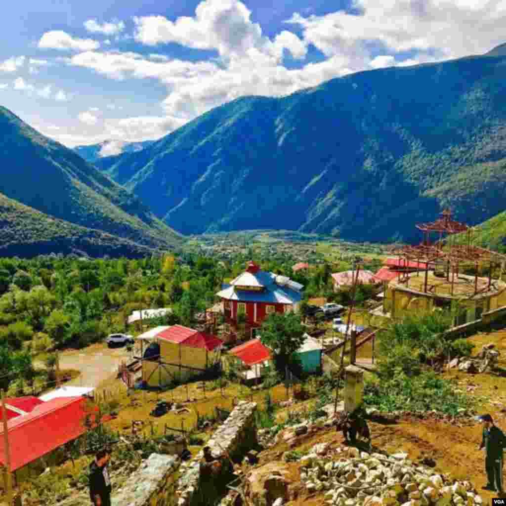 روستای مريان، شهرستان تالش عکس: (ارسالی شما)