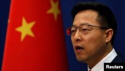 Người phát ngôn Bộ Ngoại giao Trung Quốc Triệu Lập Kiên.