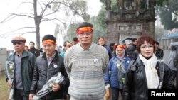Một cuộc tuần hành chống Trung Quốc tại Việt Nam năm 2014.