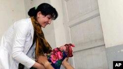 به گفتۀ مقامات ۱۸ کودک در دایکندی به سرخکان مبتلا شده اند