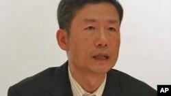 중국 당국에 체포된 후 20일 풀려난 한국의 북한민주화운동가 김영환 씨 (자료사진).