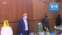 Les autorités marocaines affichent des objets d'une cellule terroriste présumée