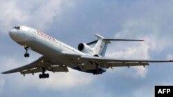 Máy bay chở khách Tupolev-154 của Nga