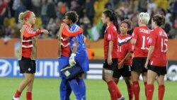 آخرین شکست کانادا در فوتبال زنان