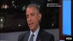 美國總統奧巴馬譴責弗格森鎮槍擊警察事件(視頻截圖)