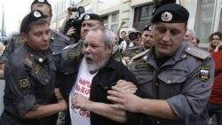 بازداشت معترضان به انتخابات در مسکو