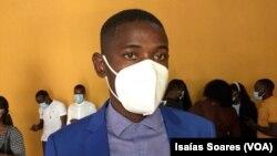 Benedito Gonga, médico e presidente do Sindicato dos Médicos de Angola em Malanje