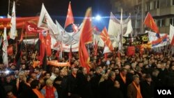 VMRO DPMNE rally Skopje november 2016