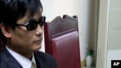 山東盲人維權人士陳光誠。