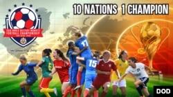 美军主办国际军体第11届女子足球锦标赛(美国国防部)