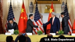 美中第7轮战略与经济对话2015年在华盛顿举行