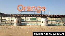 Le stade Demba Diop, Dakar, samedi 29 octobre 2017. (VOA/Seydina Aba Gueye)