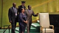 UMugabe Wethusela uMongameli Trump