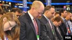Молитва перед открытием съезда