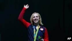 ورجینیا ټریشر - په المپیک ۲۰۱۶ لوبو کې د سرو زرو مډال ګټونکې امریکایۍ