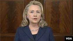 Hillary Clinton on Libya Attacks 9/12/12