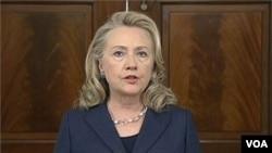 Toutes les mesures de sécurité sont passées au crible, a dit Hillary Clinton
