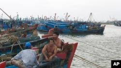 Ngư dân Việt Nam tại Ðà Nẵng.