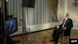 Интервью Владимира Путина Ларри Кингу