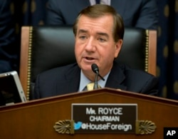 "FILE - ""Removing North Korea from the state sponsor of terrorism list was a mistake,"" says Representative Ed Royce, a California Republican."