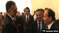 Predsednici Crne Gore i Albanije u Tirani, 7. septembar 2015.