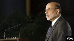 Gubernur Federal Reserve atau Bank Sentral AS, Ben Bernanke.