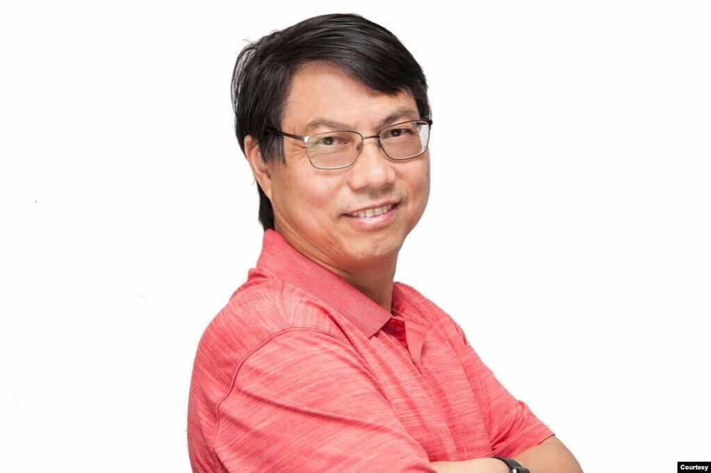 中国科学院上海天文台教授葛健(照片提供:葛健)(photo:VOA)