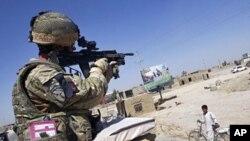 아프가니스탄 주둔 나토군 (자료사진).
