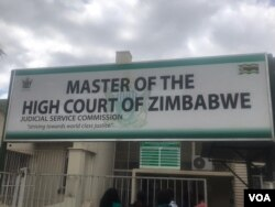 Master of the High Court of Zimbabwe.
