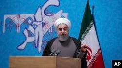 Le président iranien Hassan Rouhani à Téhéran, en Iran, le 6 décembre 2016.