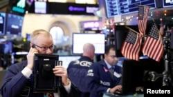 بازار بورس نیویورک، دوشنبه سوم دی ماه