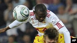 Red Bull Salzburg - KSV Superfund, Bullen-Arena, Salzburg: Salzburgs Rabiu Afolabi (Nigeria)