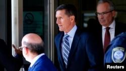 一度擔任美國國家安全顧問的邁克爾弗林資料照。