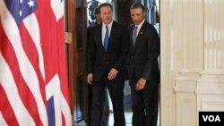 La Casa Blanca afirma que el primer ministro garantizó que Gran Bretaña continuaría como una potencia militar comprometida con sus responsabilidades en la OTAN.