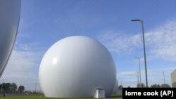 Супутникові антени в Кестер, Бельгія. Центр в Кестері, може стати частиною нової системи НАТО з супутникового управління