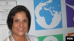 Ruth Mery Linares considera que ahora la mujer tiene otra herramienta para protegerse del SIDA.