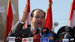 Iraq's Prime Minister Nouri al-Maliki (file photo)