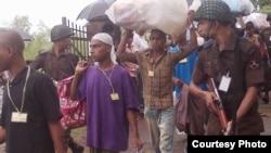 Migrants returning to Bangladesh