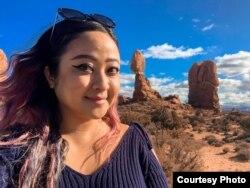 Patriana Sonia, warga Indonesia di negara bagian Virginia yang bekerja sebagai pegawai kontraktor pemerintah. (Foto: pribadi)