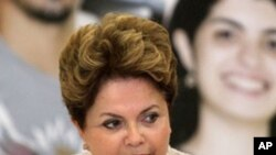 지우마 호세프 브라질 대통령 (자료사진)