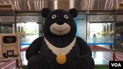 台北世界大學生運動會吉祥物(申華 拍攝)