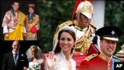 2011ء کی چند یاد گار شادیاں