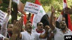 Vazhdojnë protestat në Siri