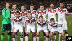 L'équipe nationale allemande, 14 novembre 2014
