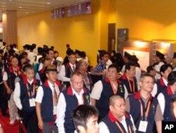 台湾代表入场