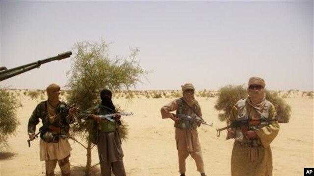 Combattants d'Ansar Dine près de Tombouctou (archives)