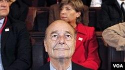 Mantan Presiden Perancis Jacques Chirac (foto: dok).