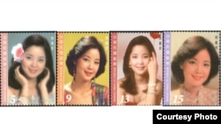 邓丽君纪念邮票(图片来自中华邮政全球资讯网)